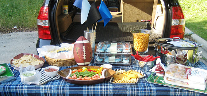 Ideas: Tailgating Food Without A Grill