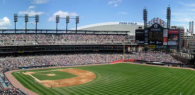 5 Best Ballpark Food Options at Comerica Park (2016)