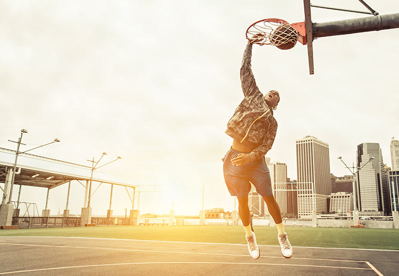 Bent Basketball Rim From Dunking? Here's 3 Ways To Fix It
